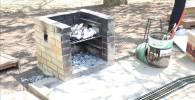 BBQの囲炉裏