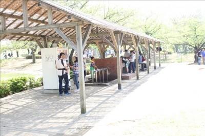 富士公園のBBQ広場