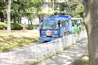 総合レクリエーション公園シャトルバス(青)