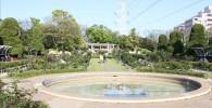 フラワーガーデン噴水池