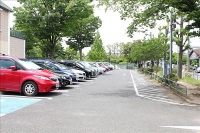 北鹿浜公園駐車場