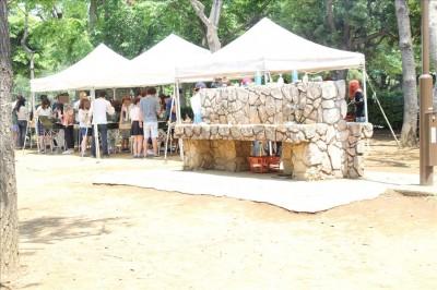 潮風公園BBQの炊事場