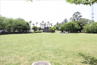 潮風公園芝生の日だまり広場