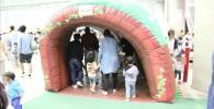 プラレール博内のトンネル