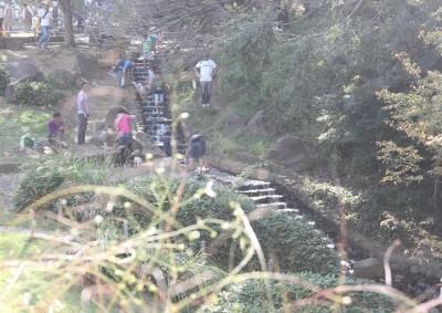 茅ヶ崎里山公園の流れ