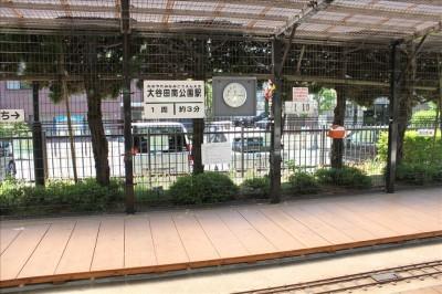 大谷田公園ミニ鉄道の駅
