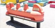 3人乗りマルチリンク式遊具