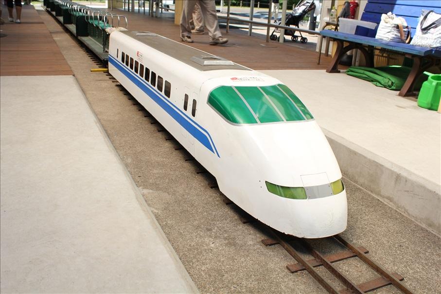 大谷田南(おおやたみなみ)公園ミニ新幹線