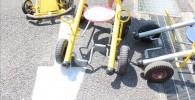 交通公園の足踏みカート