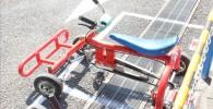 自転車のペダル付きゴーカート