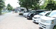 綾南公園の駐車場