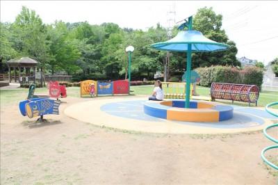 3歳くらいまでの幼児用の遊具スペース