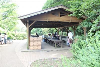 綾南公園BBQの炊事場