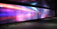 スマートコミュニティセンター巨大スクリーンの宇宙の映像