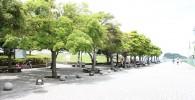 海風公園の遊歩道
