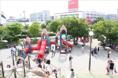 海風公園の遊具広場