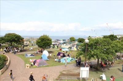 海風公園のBBQ広場