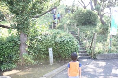 大塚古墳の石段