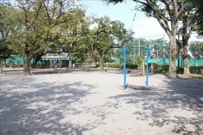 健康遊具広場の全貌