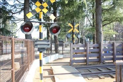 世田谷公園踏切2