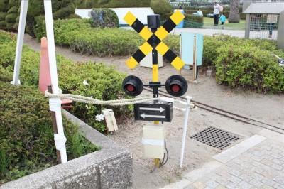 東京競馬場踏切