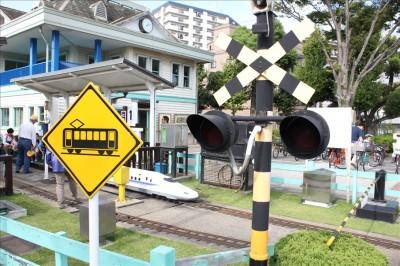新宿公園踏切