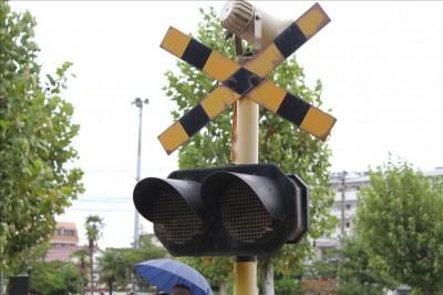 行徳駅前公園踏切