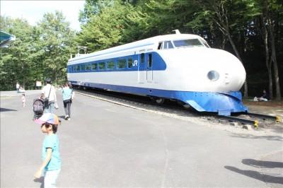 新幹線0系の展示