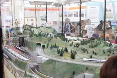 青梅鉄道公園のジオラマ展示