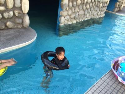龍宮城スパホテル三日月 温水プール