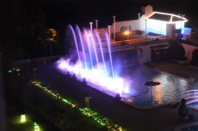 龍宮城スパホテル三日月 噴水ショー
