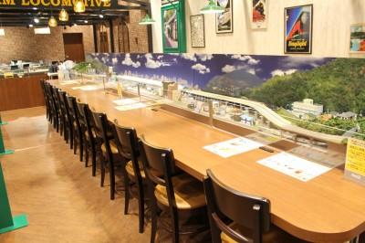ららぽーと富士見 鉄道カフェ