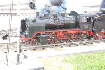 ハーバーシティ蘇我 ミニ蒸気機関車