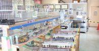 電車の模型展示室