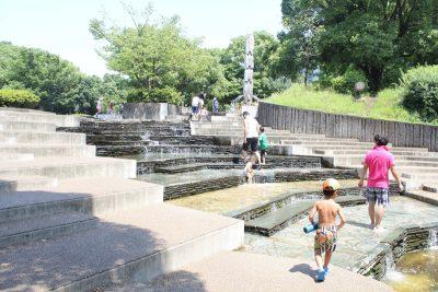 立体式水遊び場