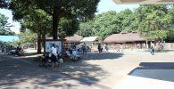 市川市動植物園入口付近