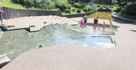 平和の森公園水遊び場