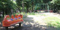 平和の森公園遊具広場の様子