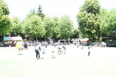 ニコニコパーク中央広場