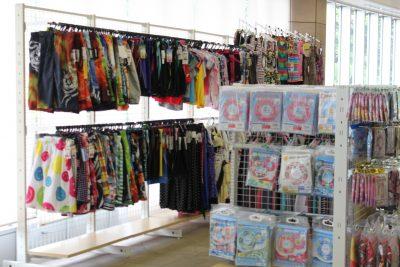 横浜の温水プール ふれーゆ 水着売場